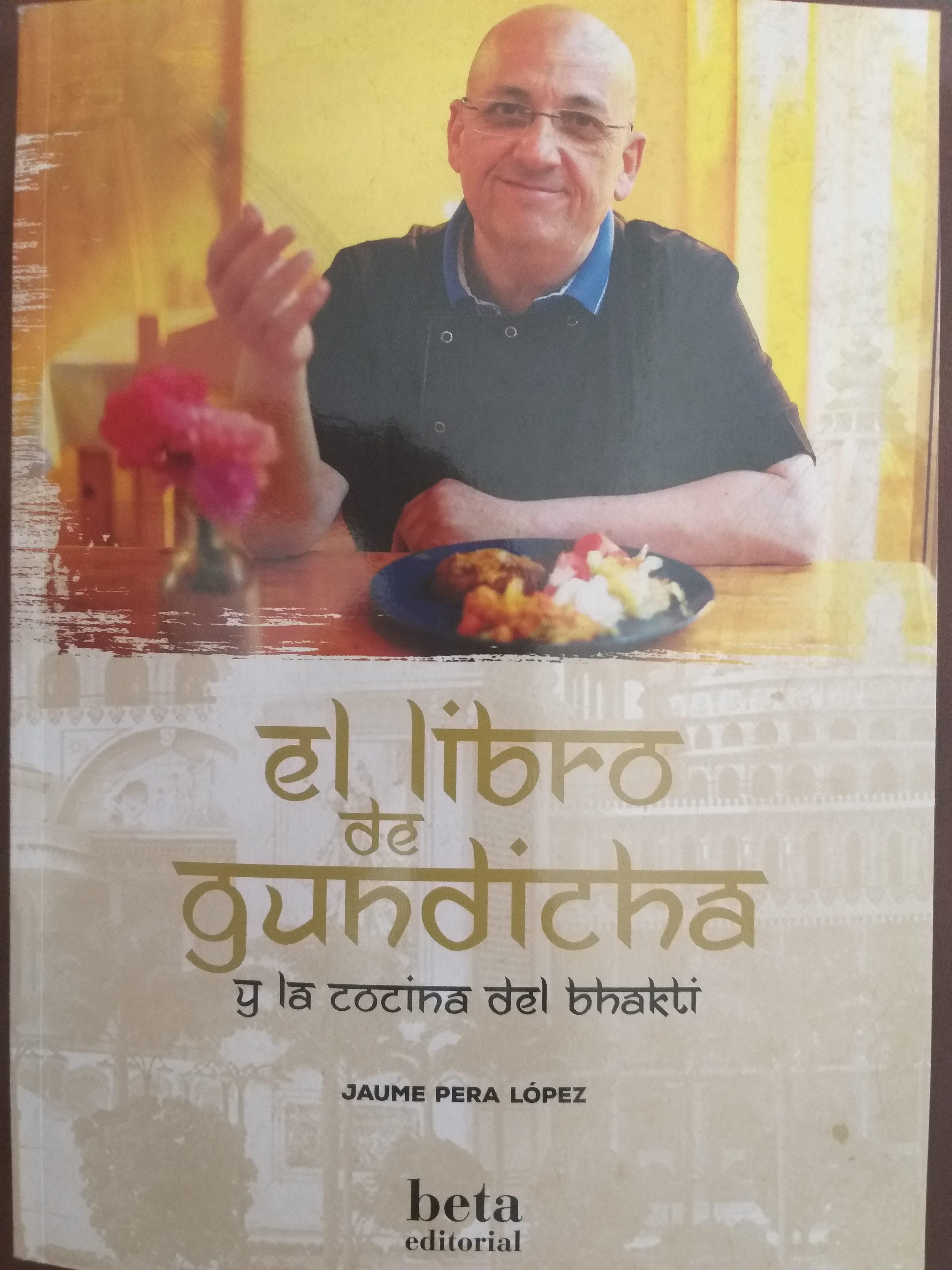 Libro cocina con Ghee Caldes d'Estrac  de la mano de Gundicha Das