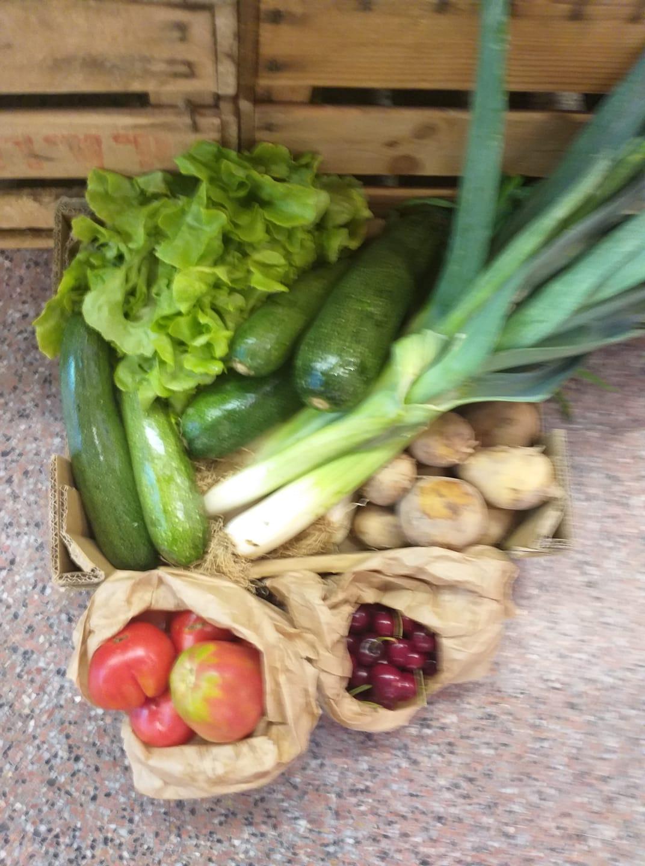 Cistella Ecològica de verdures