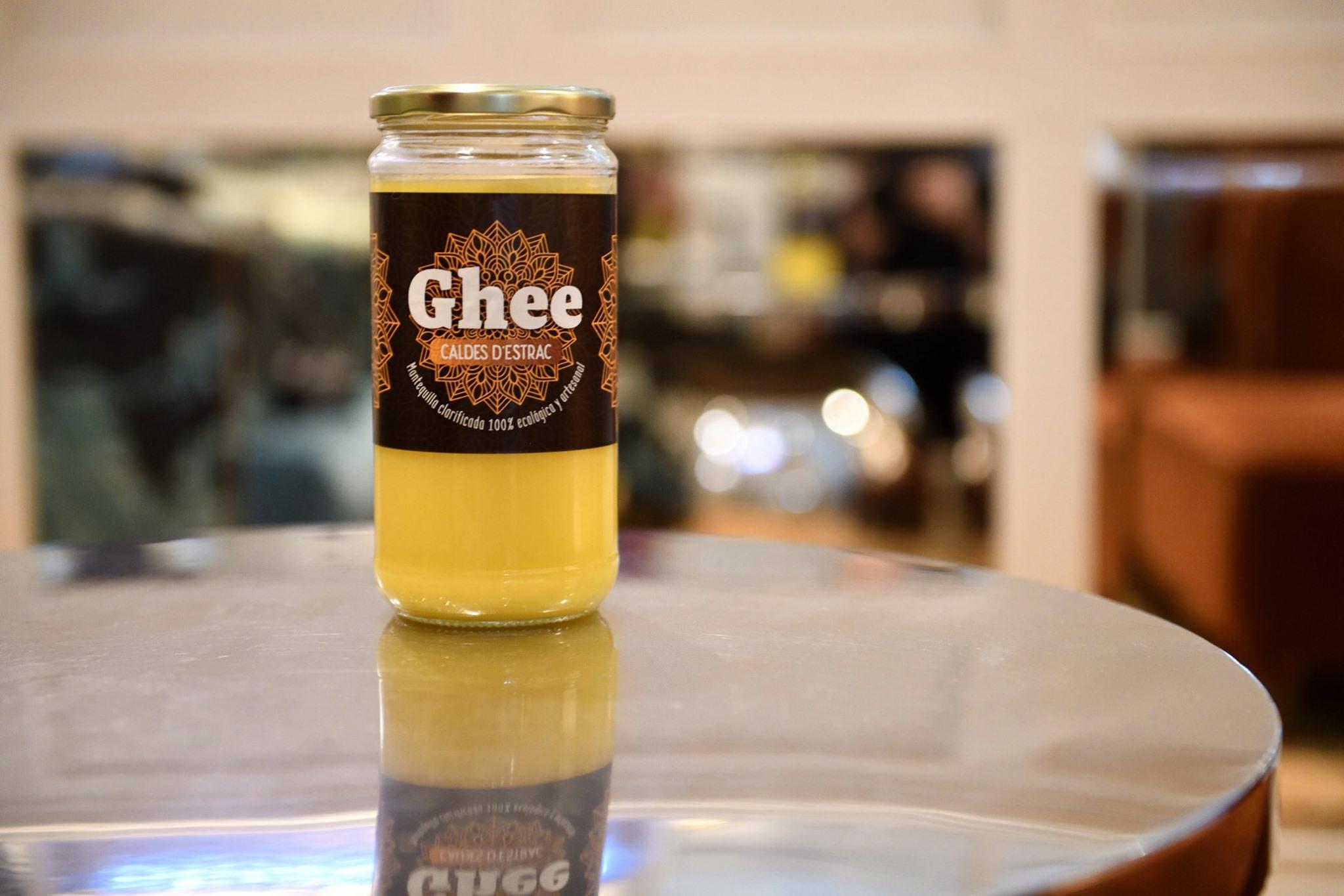 Ghee Caldes d'Estrac 720 ml Mantequilla Clarificada Ayurveda 100 % Artesanal y Ecológica Certificada – Especialmente para ti!