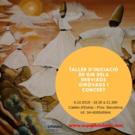 TALLER D'INICIACIÓ AL GIR DELS DERVIXOS GIRÒVAGS i Concert