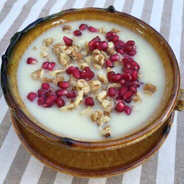 Crema de otoño con Ghee Caldes d'Estrac