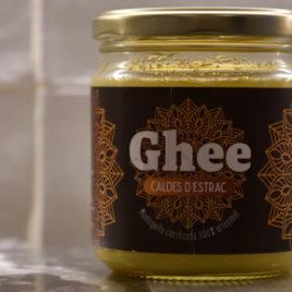 Ghee Caldes d'Estrac 370 ml  Mantequilla Clarificada Ayurveda 100 % Artesanal y Ecológica Certificada – oferta de introducción