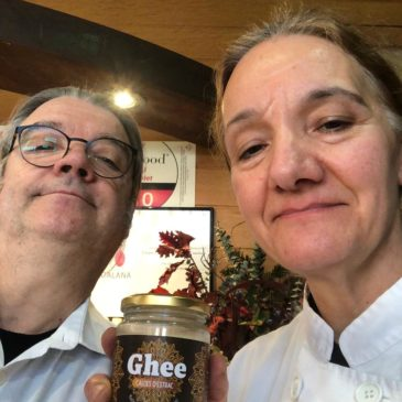 Recepta «Bica» feta amb massa mare i Ghee Caldes d'Estrac compartida pel Restaurant  Hotel Niu Nou quilòmetre «0» de Bagà -Catalunya-