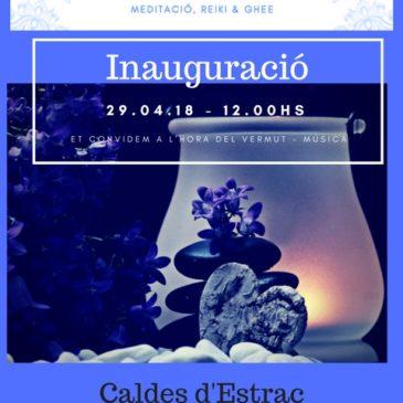 Inauguració Espai del Silenci Caldes d'Estrac  29.04.2028  12.00 a 13.3hs