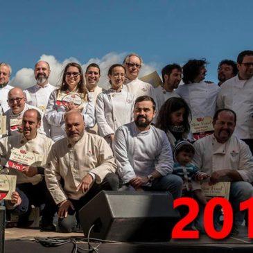 lliurament les plaques als Restaurants que han destacat en el 2018  Km0 – Catalunya.